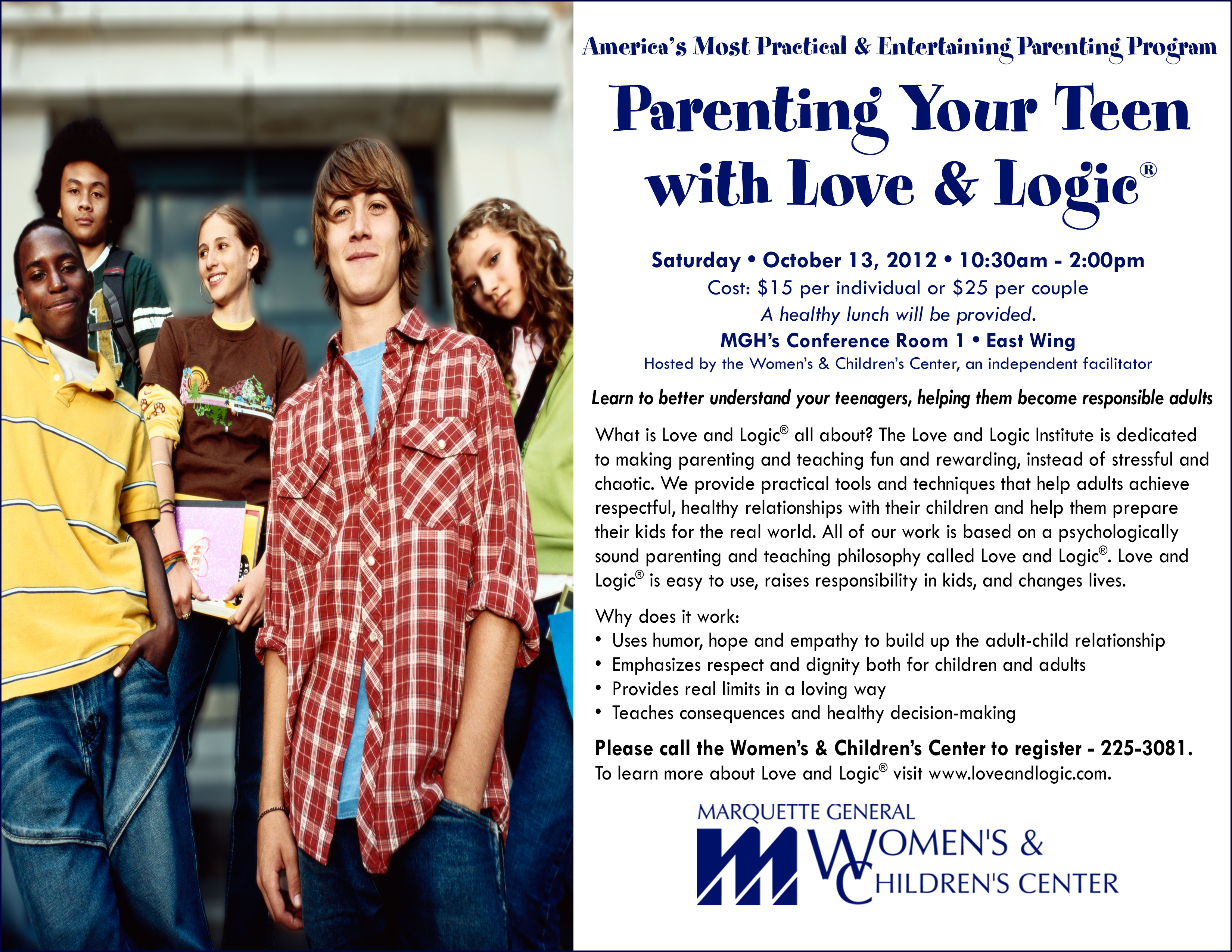 Love and logic for teens